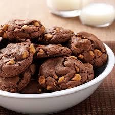 peanut butter chocolate cookies.  Peanut Throughout Peanut Butter Chocolate Cookies
