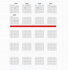 Guitar Chord Chart Template Excel Make Your Own Chord Charts For Guitar