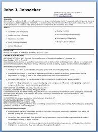 Electro Mechanical Assembler Resume Sample Inspirational Download Custom Assembler Resume