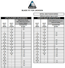 Graf Size Chart Jackson Sizing Chart