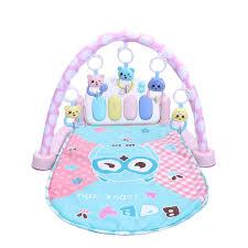 Baby Play Mat Light Up Amazon Com Toyvian Cartoon Baby Toddler Piano Gym Mat