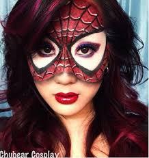 amazing spider makeup