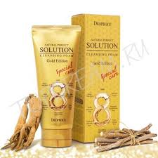 <b>DEOPROCE</b> Natural Perfect Solution Cleansing Foam Gold - <b>Пенка</b> ...