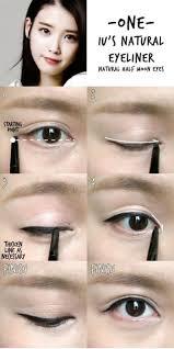 image result for half moon eyes natural eyeliner tutorial korean makeup tutorial natural korea