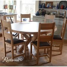 kingston oak 1 5m round table