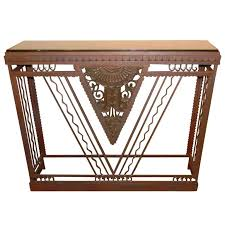 deco style furniture. Art Deco Furniture Style French Metal Console Marble Top Australia