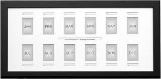 Employee Of The Month Photo Frame Employee Of The Month 13x27 Frame To Hold Monthly Photos For A Year