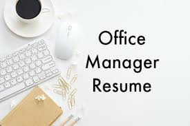 Sample Office Manager Resumes Office Manager Resume Sample