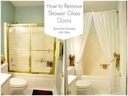replace shower door glass removing shower door captivating shower curtains for glass showers inspiration with best