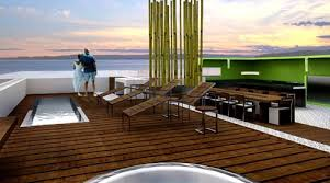 roof deck furniture. Roof Deck And Lap Poo   Seatle Penthouse Furniture