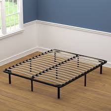 Shop Handy Living Queen Size Wood Slat Bed Frame - On Sale - Free ...
