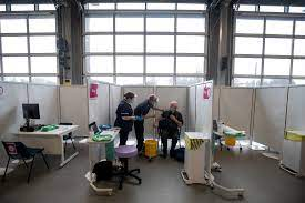 The astrazeneca vaccine is prepared for administering at region hovedstaden's vaccine centre in copenhagen, denmark, thursday feb. Astrazeneca Shot Found To Be Protective Against Coronavirus Variant First Seen In U K The New York Times