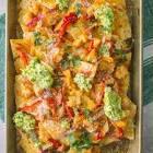 bliss sweet   spicy chicken nachos