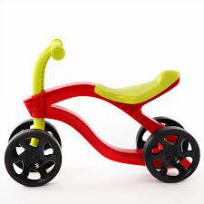 4 Wheels <b>Children's Push Scooter Balance</b> Bike Walker Infant ...