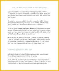 How To Write Meeting Minutes Effective Meeting Minutes Template