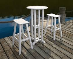 patio furniture white. Full Size Of Saddle Bar Stool Recycled Plastic Stools Outdoor Stackable White And Table Archived On Patio Furniture