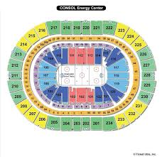 Consol Energy Center Seating Chart Monster Jam Ppg Paints Arena Pittsburgh Pa Seating Chart View