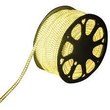 Plug And Play Outside Lights Led Light Hose Flat 50m Color 3000k Warm White 60 Leds M Ip65 Plug Play