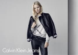 linde derickx for calvin klein jeans