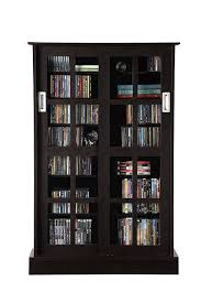 atlantic glass door espresso kitchen dining black bookcases with doors white gloss shelving unit ikea floating