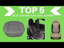 best leather car seat covers top 5