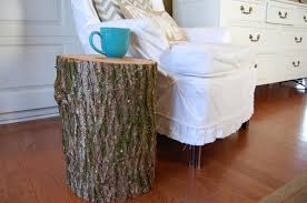 creative home furniture designs using tree stump end tables dazzling home furniture designs using cylinder