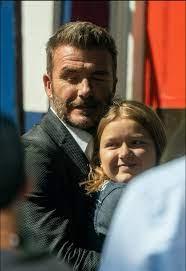 ديفيد بيكهام وابنته - منتدي فتكات