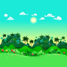 jungle background vector. Delighful Vector Coloured Jungle Background And Jungle Background Vector L
