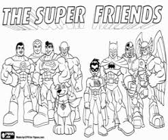 Small Picture Super Friends coloring pages printable games