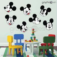 wall decals mickey mouse replica