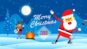 Merry Christmas Christmas Digital Greetings Stock Footage Video 100 Royalty Free 33043114 Shutterstock