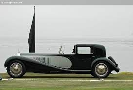 The bugatti type 41, better known as the royale, is a large luxury car built from 1927 to 1933 with a 4.3 m (169.3 in) wheelbase and 6.4 m (21 ft) overall length. 1931 Bugatti Type 41 Conceptcarz Com