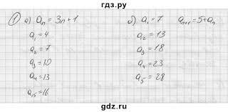 ГДЗ контрольные вопросы § алгебра класс Ю Н Макарычев ГДЗ по алгебре 9 класс Ю Н Макарычев контрольные вопросы §9