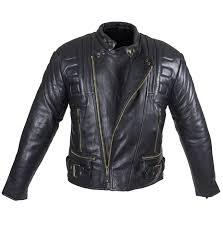 mens padded leather jacket