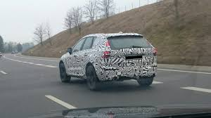 2018 volvo xc60 spy shots. 2017 volvo xc60 rear three quarters left side spy shot 2018 xc60 shots