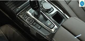 bmw 2014 x5 interior. interior for bmw x5 f15 2014 2015 2016 gear shifter box panel cover bmw