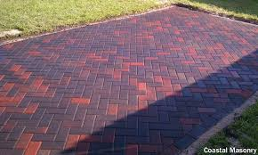 laying brick patio