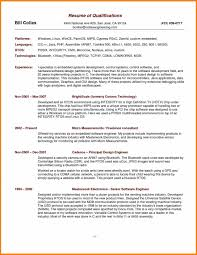 Sales Skills Resume qualifications for job resume sample resume skills and 63