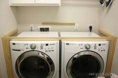 counter over washer and dryer ikea. Delighful Ikea DIY A Built In Washer  Dryer Tutorial For Your Laundry Room Throughout Counter Over Washer And Dryer Ikea B