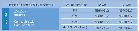 Gel Migration Chart Bis Tris Precast Gel Deal Expedeon