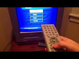 My Sansui TV/DVD/VCR combo (HD) - YouTube
