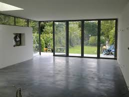 polished concrete floor in house. Natural Power Float Concrete Floors, House, Oxted - Steyson Granolithic Contractors Ltd Polished Floor In House O