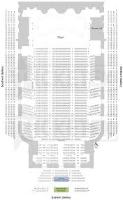 Town Hall Seating Eisenhower Seating Chart Robinson Center