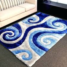 blue area rugs 6x9 awesome