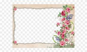 Flower Border Designs For Paper Floral Borderborder Designwriting Papers Vintage Frame Designs
