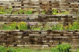 retaining wall ideas for a sloped