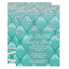 <b>Diamond</b>, Pearls and Bling Party <b>Invitations</b>   Zazzle.com in 2019 ...