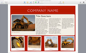Apple Flyer Templates Pages Flyer Templates Mac Free