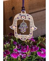 hamsa wall hanging art handmade home decor silver purple judaica blessing evil eye metal jewish hand on jewish hamsa wall art with summer savings on hamsa wall hanging art handmade home decor silver