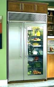 glass door refrigerator for home fridge french refrigerators models from high and freezer sub zero front